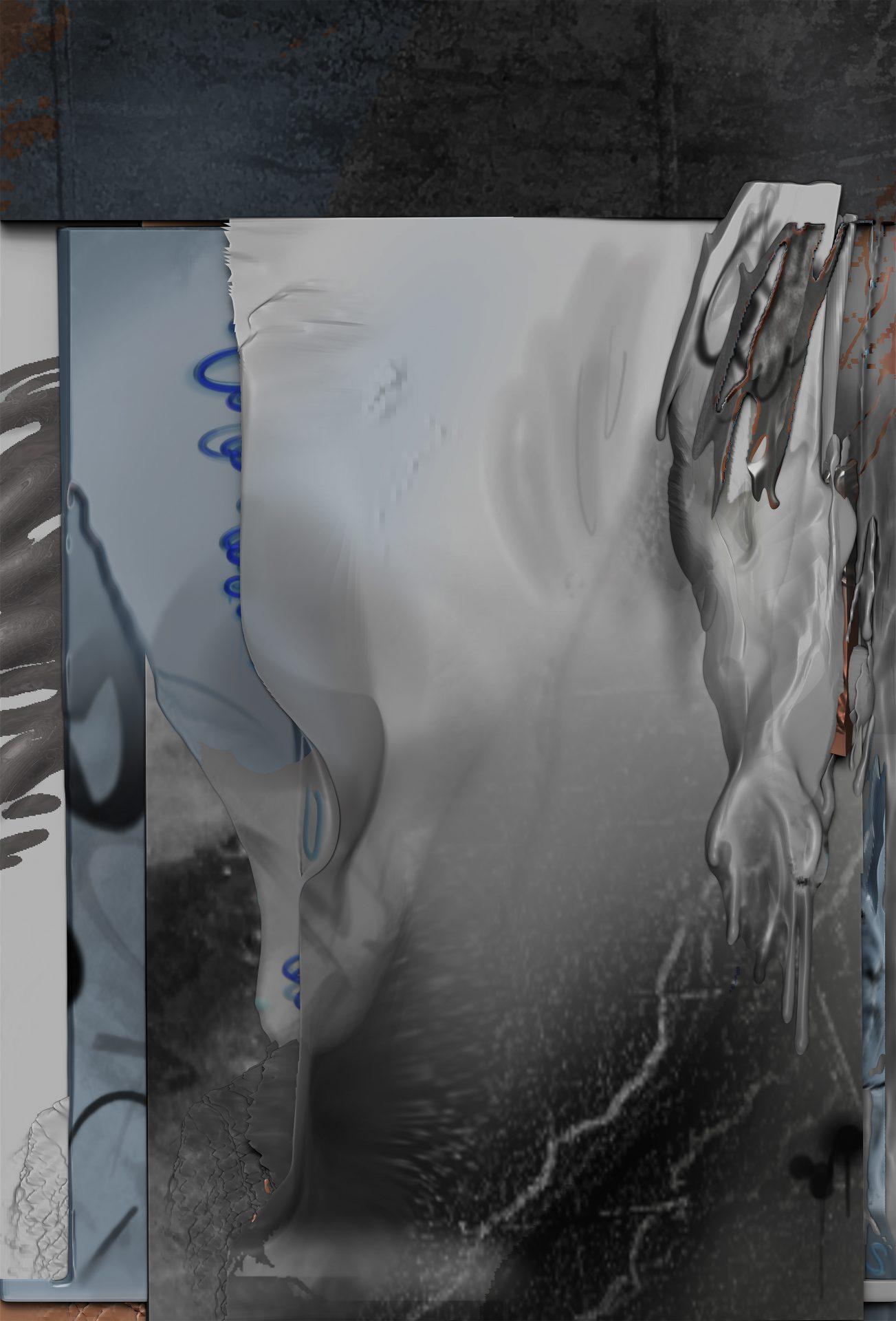 吳權倫 Wu ChuanLun, Debris_Week (Landsberger Allee) Monday, 2020, TBD, TBD