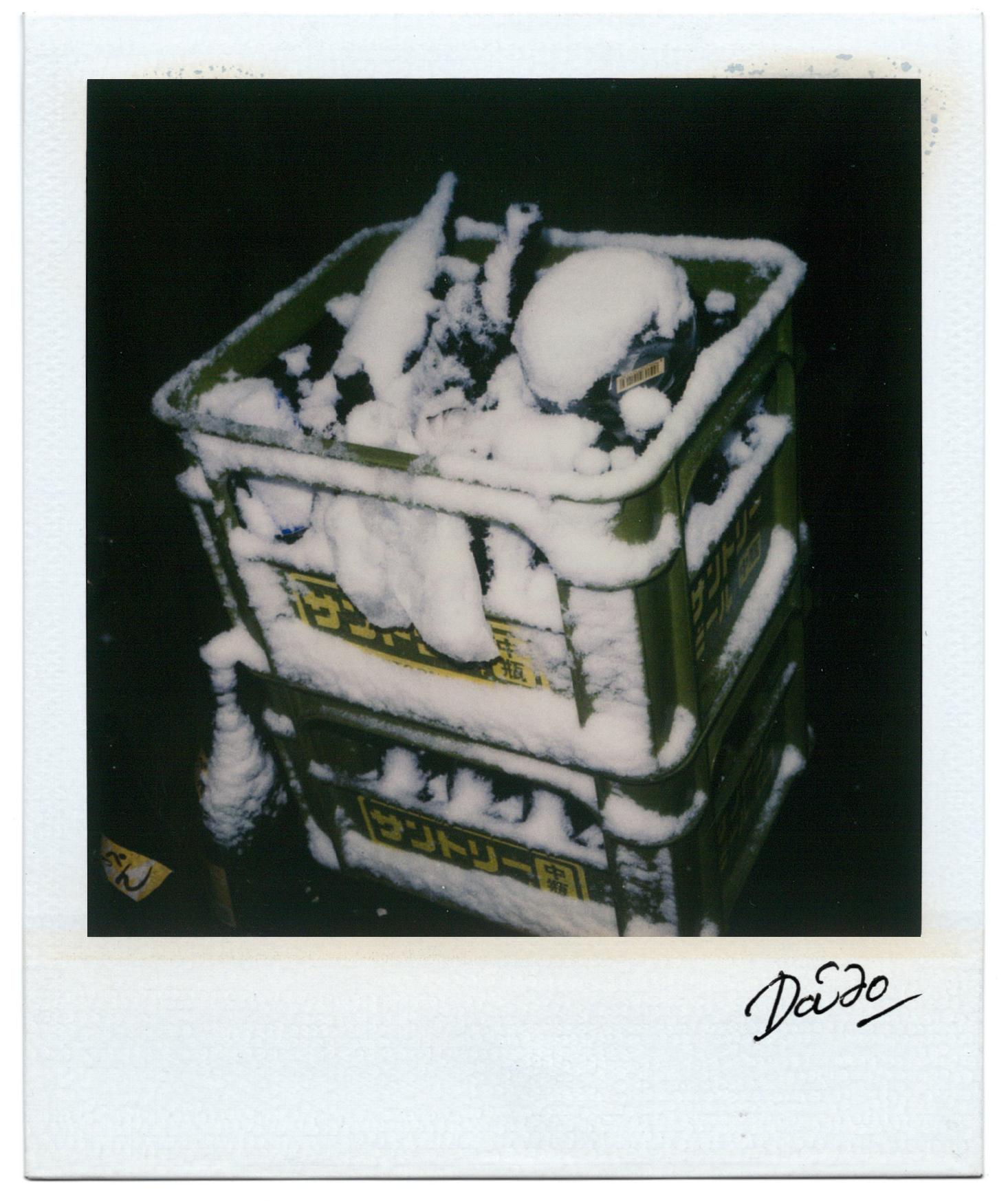 Moriyama Daido, Passage, 1998, Polaroid, 11 x 9 cm1