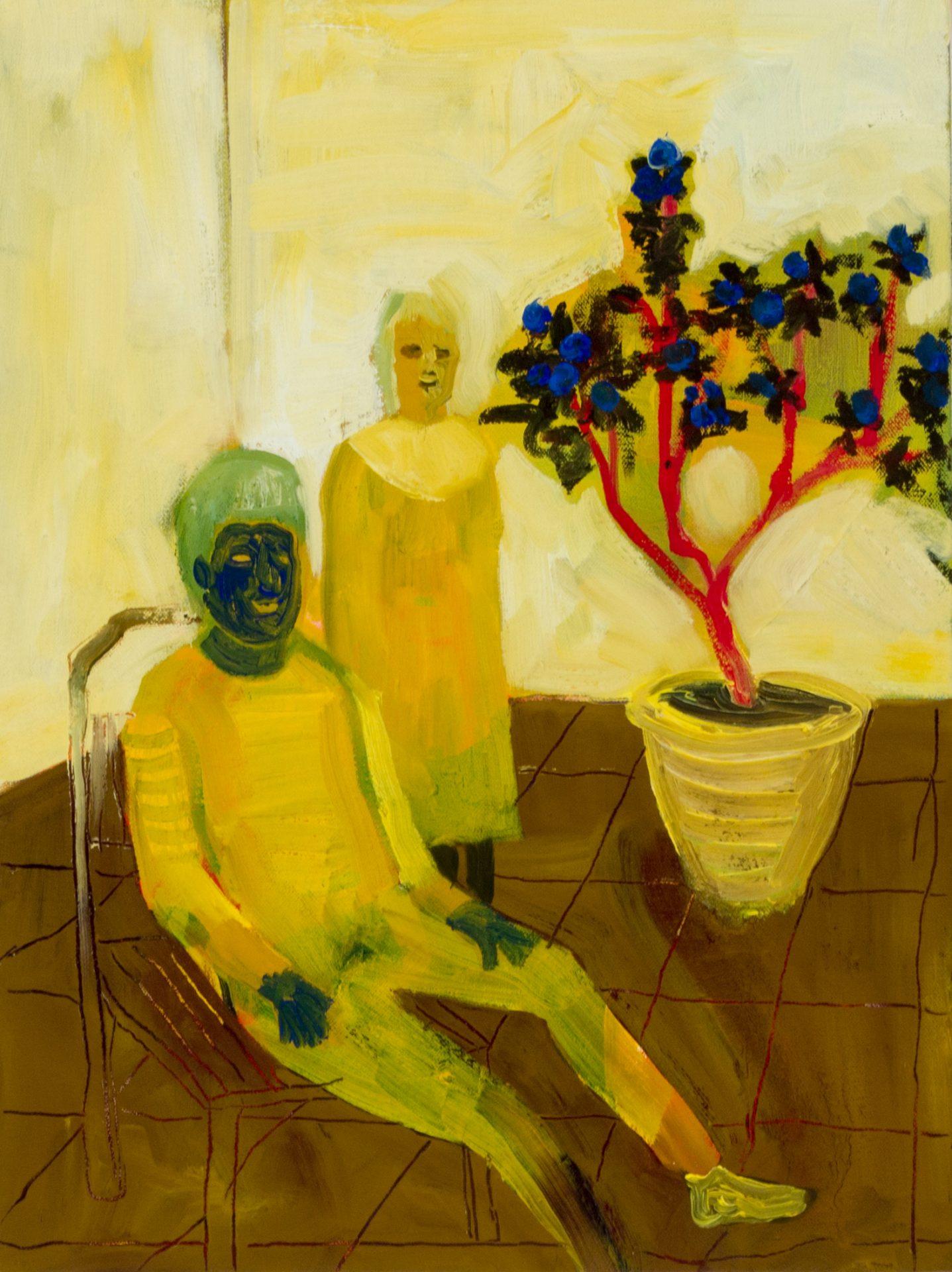 黃海欣 Huang HaiHsin, 無題 Untitled, 2020, 畫布油彩 oil on canvas, 40 x 30 cm-2