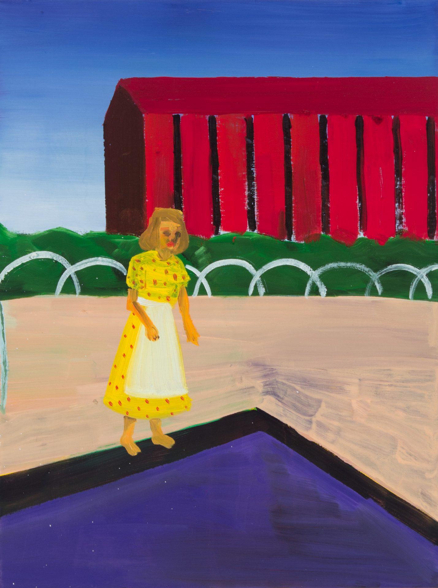 黃海欣 Huang HaiHsin, 無題 Untitled, 2020, 畫布油彩 oil on canvas, 40 x 30 cm-3