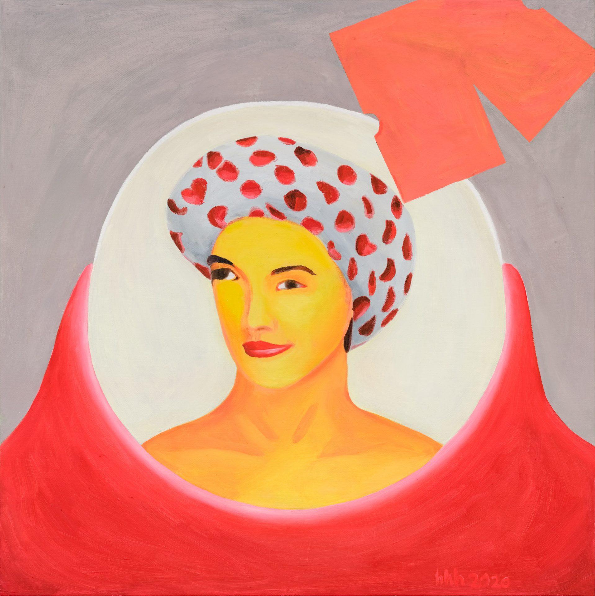 Wu - 黃海欣 Huang HaiHsin, 99美分 #9 99 Cent #9, 2020 畫布油彩 oil on canvas, 75 x 75 cm